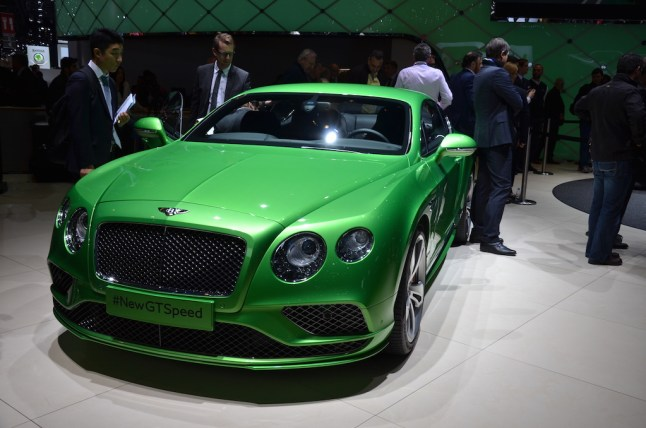 © MotorNews kw / 85. Auto-Salon Genf 2015 / Bentley Continental GT Speed GT Speed