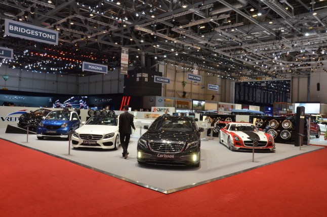 © MotorNews kw / 85. Auto-Salon Genf 2015 / Carlsson Messestand