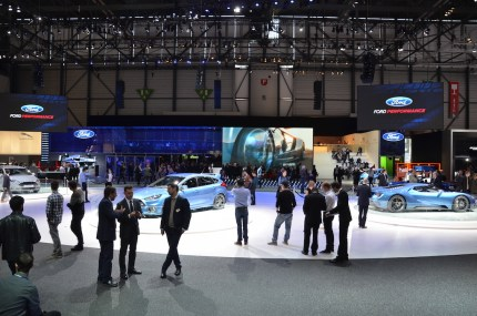 © MotorNews kw / 85. Auto-Salon Genf 2015 / Ford Messestand