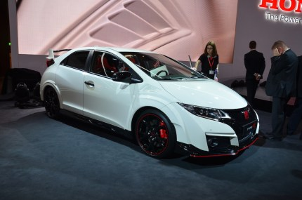 © MotorNews kw / 85. Auto-Salon Genf 2015 / Honda Civic Type R
