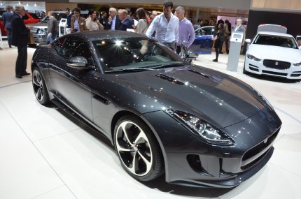 © MotorNews kw / 85. Auto-Salon Genf 2015 / Jaguar F-TYPE S Coupe