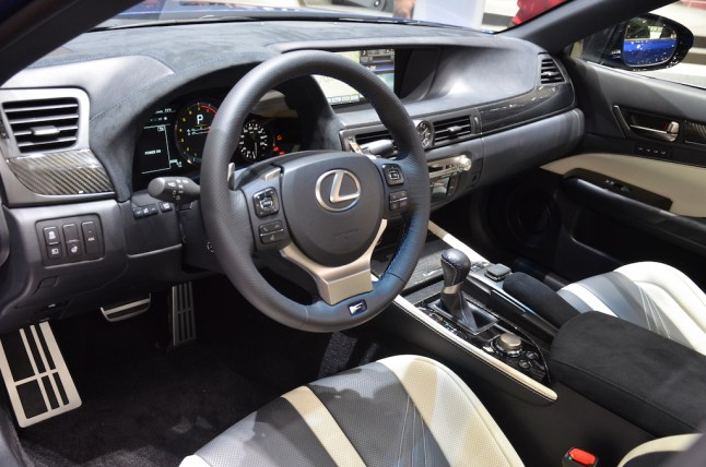 © MotorNews kw / 85. Auto-Salon Genf 2015 / Lexus GS-F