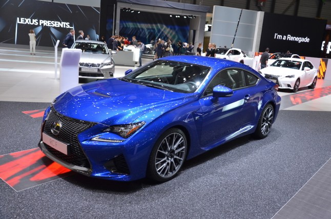 © MotorNews kw / 85. Auto-Salon Genf 2015 / Lexus RC-F