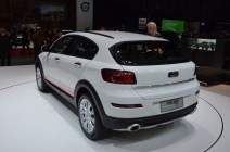 © MotorNews kw / 85. Auto-Salon Genf 2015 / Qoros 3 City SUV