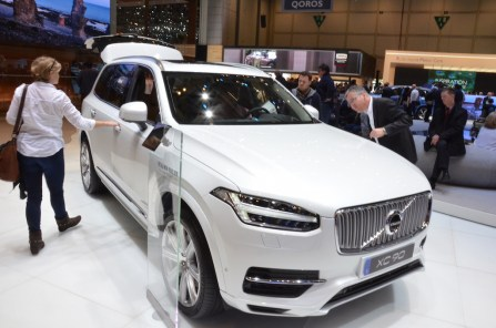 © MotorNews kw / 85. Auto-Salon Genf 2015 / Volvo XC90 T8 Twin Engine