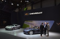 © MotorNews kw / 85. Auto-Salon Genf 2015 / Chevrolet Corvette