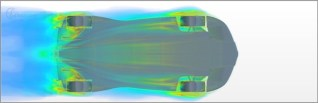 © ED DESIGN S.R.L. / MAAL - Mobile Autonomous Automobile Laboratory - an fully autonomous, fully electric race car / TORQ CFD
