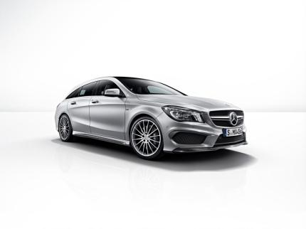 © Daimler / Der neue Mercedes-Benz CLA 45 AMG Shooting Brake: Avantgarde trifft Driving Performance