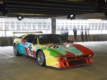 "© BMW AG / ""ART DRIVE! Die BMW Art Car Collection 1975-2010"" in London, 21. Juli – 4. August 2012. Andy Warhol, BMW Art Car, 1979 - BMW M1 Gruppe 4 Rennversion"