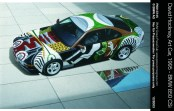 © BMW AG / David Hockney, Art Car, 1995 - BMW 850 CSi (12/2003)