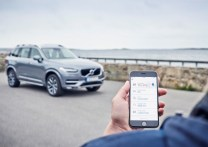 © Volvo / Volvo On Call app in an iOS phone