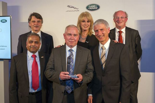 © Jaguar Land Rover Ltd / Jaguar Land Rover verleiht erstmals globale Supplier Excellence Awards / robert bosch gmbh bronze winner