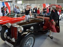 © MotorNews kw / Klassikwelt Bodensee 2016_Old English Style / MG TC Baujahr 1947