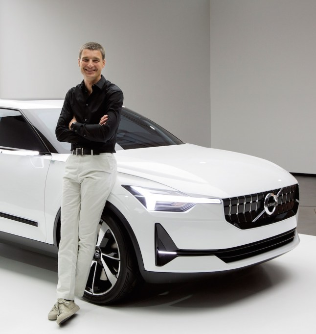 © Volvo Car Corporation / Thomas Ingenlath mit dem Volvo Concept 40.2