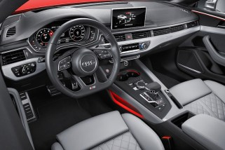 © Audi AG / Das neue Audi S5 Coupé / Colour: Misano Red