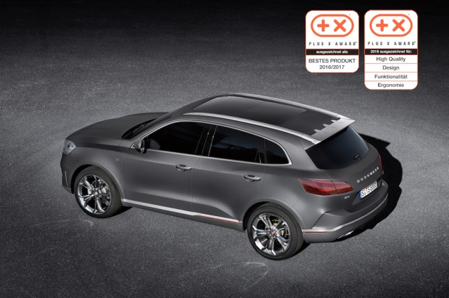 © BORGWARD Group AG / Plus X Award für Borgward BX7 TS