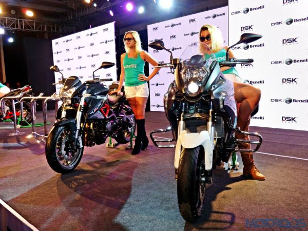 DSK Benelli India Launch – TNT 600i and 600GT – 1
