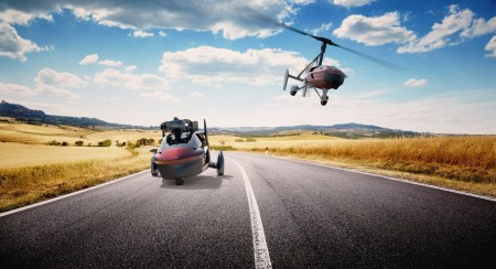 PAL-V Liberty Flying Car Lands At The 2018 Geneva Motor Show