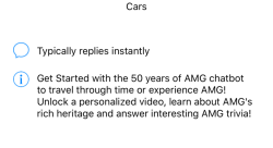 Mercedes-Benz Launches India's First Automobile Facebook Messenger AMG Chatbot