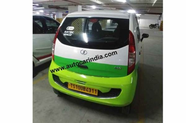 Tata Motors Nano Based Jayem Neo With Ola Decals Spied In Hyderabad