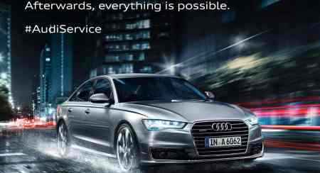 Audi Monsoon Campaign Offers Complimentary Check-Up & Exclusive Offers