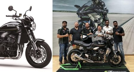 India's First Kawasaki Z900RS Black Delivered In Pune