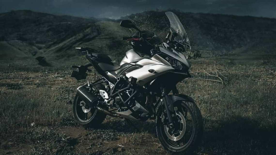 Modifikasi Yamaha R25 Tenere 250