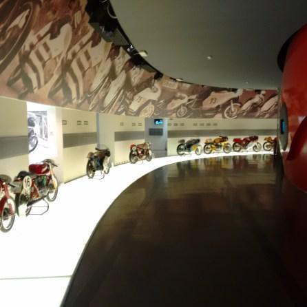 Muzeul Ducati poza din 2015