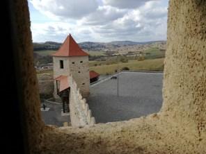 Vedere din cetatea Rupea