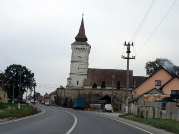 Biserica din Rotbav inainte de 2016