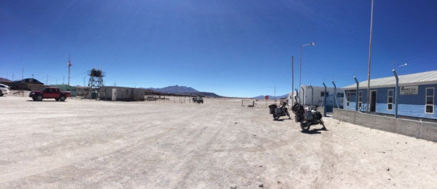 Bolivian Border post at Ollague