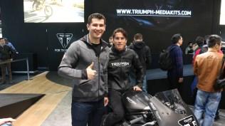 James Toseland @ Triumph