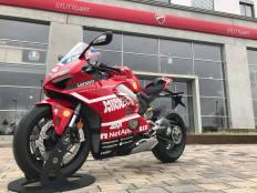 Ducati V4 in schema de culori Desmosedici GP19