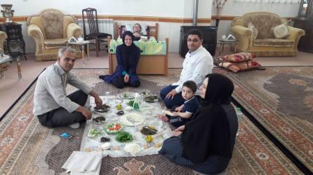 Familia iraniana care i-a gazduit