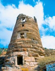 Turnul elenistic Agios Petros, sursa:andros.travel