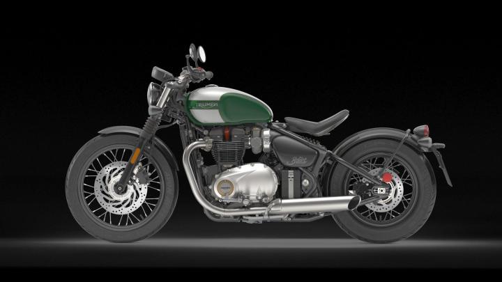 Triumph Bonneville Bobber Vmax Newmotorjdico