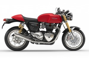 Thruxton R side red