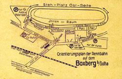 1931-1961 Länge: 2,0-2,3 km ab 1931: 2,3 km ab 1951: 2,0 km