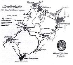 1924-1925 Länge: 33,5 km Rundstreckenrennen