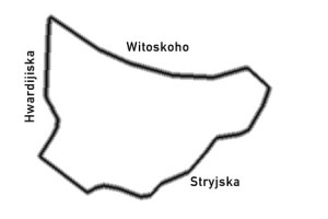 Lemberg 1930-1933 3 km