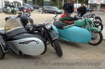 BMW- und Panonia-Gespann