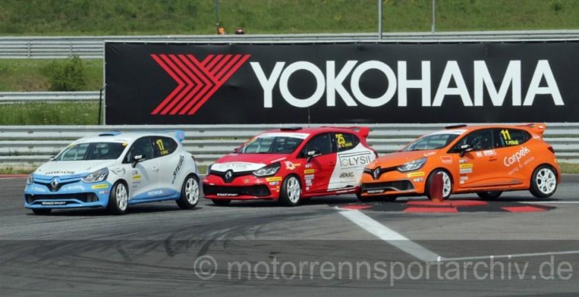 Spannung im neuen Clio Cup Central Europe