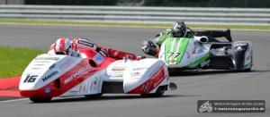 Die Birchalls (16) gewannen beide Rennen, Reeves/Cluze (77) den Titel