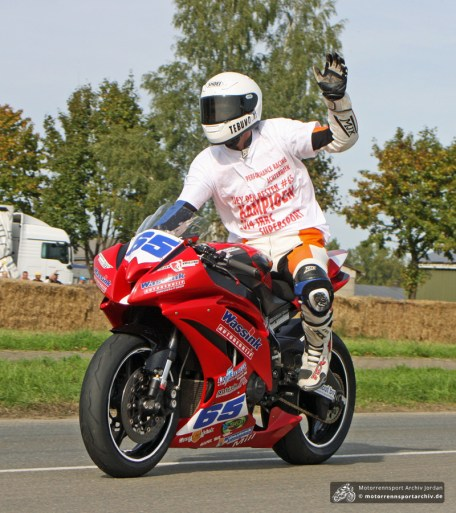 Joey den Besten - IRRC-Supersport-Champion 2014