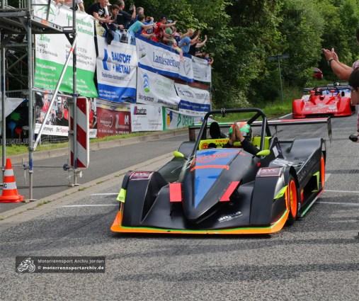Francesco D´Acri steuerte den kleinen Elia Arrivo ST09 zum Sieg bei den Sportwagen bis 2000ccm.