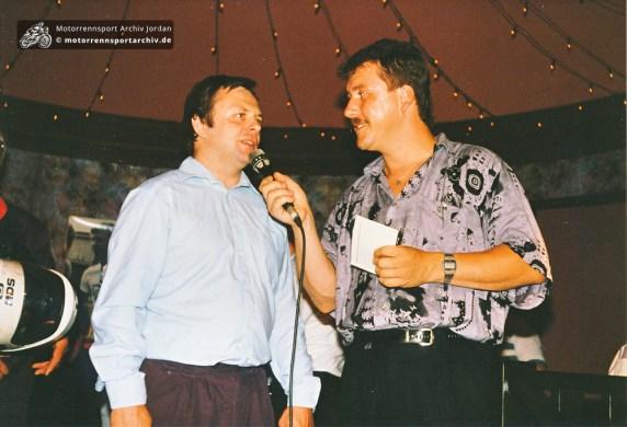 Wer ist der Interviewpartner von Bert Silbermann?