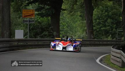 Vom Ortsausgang Steinbach zum Rennsteig in etwas mehr als zwei Minuten: Simone Faggioli