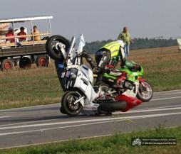 Dieser Zwischenfall sorgte für den Neustart des ersten Supersport-Rennens.
