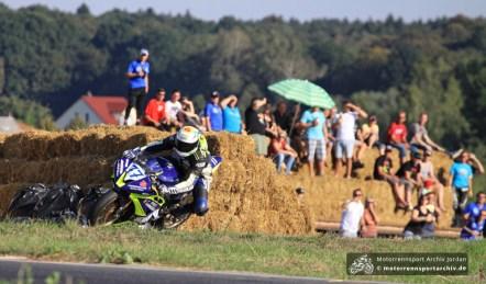Thomas Walther siegte und holte noch den dritten Platz im Gesamtklassement der IRRC-Supersport...