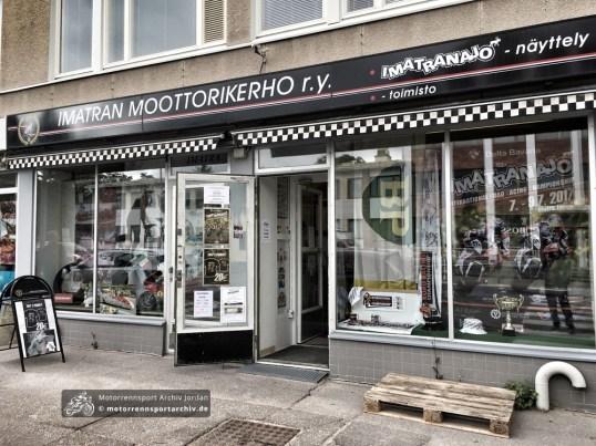 Das Vereinsheim des Motorsportclubs hat eine umfangreiche Ausstellung zur Geschichte der Rennen zu bieten...